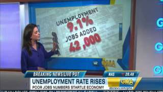 9.1% US Unemployment Rate May 2011