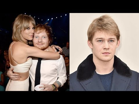 Ed Sheeran Meets Taylor Swift New Boyfriend Joe Alwyn