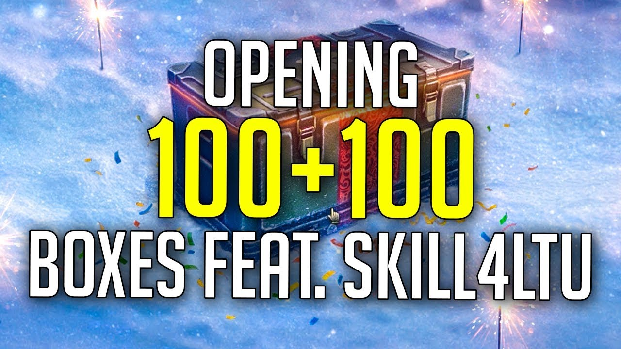 World Of Tanks Christmas Boxes 2020 Opening 100+100 Loot Boxes feat. Skill4ltu   World of Tanks