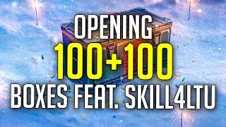 Opening 100+100 Loot Boxes feat. Skill4ltu | World of Tanks Christmas Loot Boxes 2019 / 2020