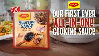 New Maggi Supreme Sarap All-In-One Cooking Sauce!