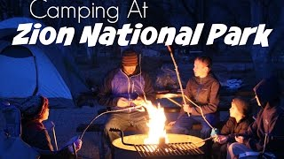 Camping at Zion National Park | Travel Diary | Mount Carmel tunnel