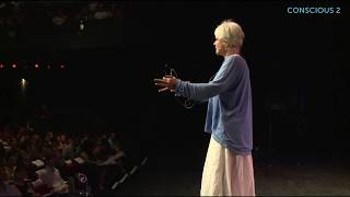"""Byron Katie - """"We are at war with our own thinking."""""""