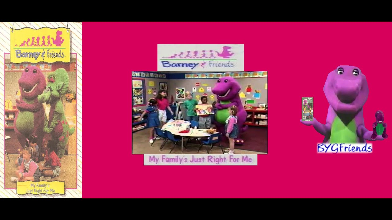 Barney & Friends Season 1, Episode 2: My Family's Just Right for Me (1995  VHS)