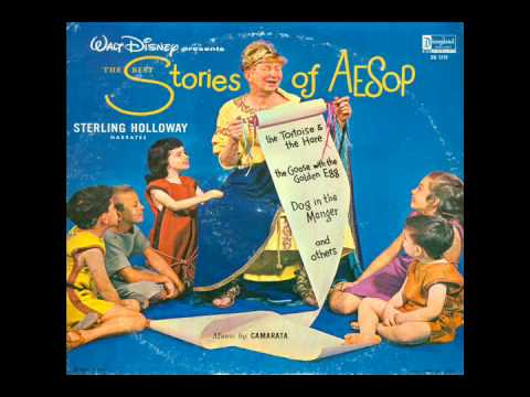 The Best Stories of Aesop (Disneyland DQ-1218) - Sterling Holloway