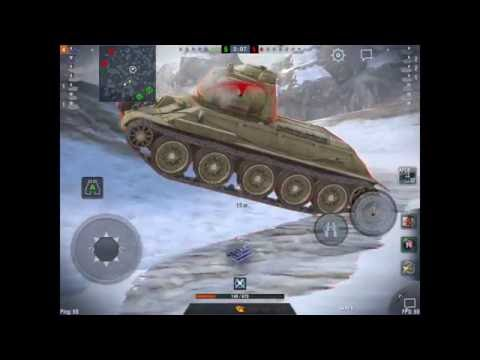 World of Tanks Blitz  Gameplay AT 2  Cazacarros
