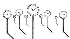 Die Kuriosität der Zeit