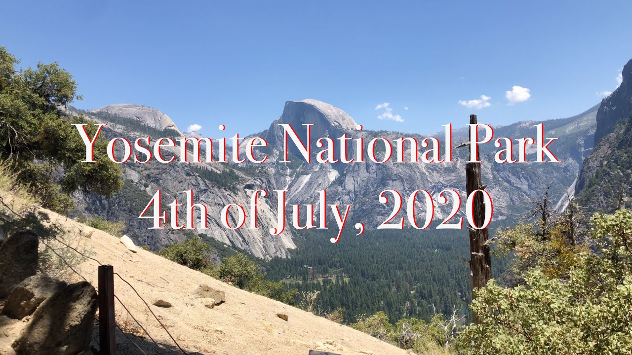 Bass Lake Camping & Yosemite, July 4th Weekend - YouTube