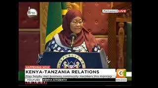 Hotuba ya Rais Samia Suluhu bungeni Kenya
