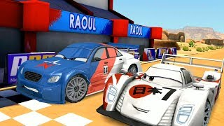 Japanese Shu Todoroki Vs Pyotr Racinov & Francesco Disney CARS Racing Game Play