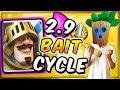 INSANE 2.9 BAIT CYCLE DECK! Dart Goblin + Princess Cycle Deck — Clash Royale