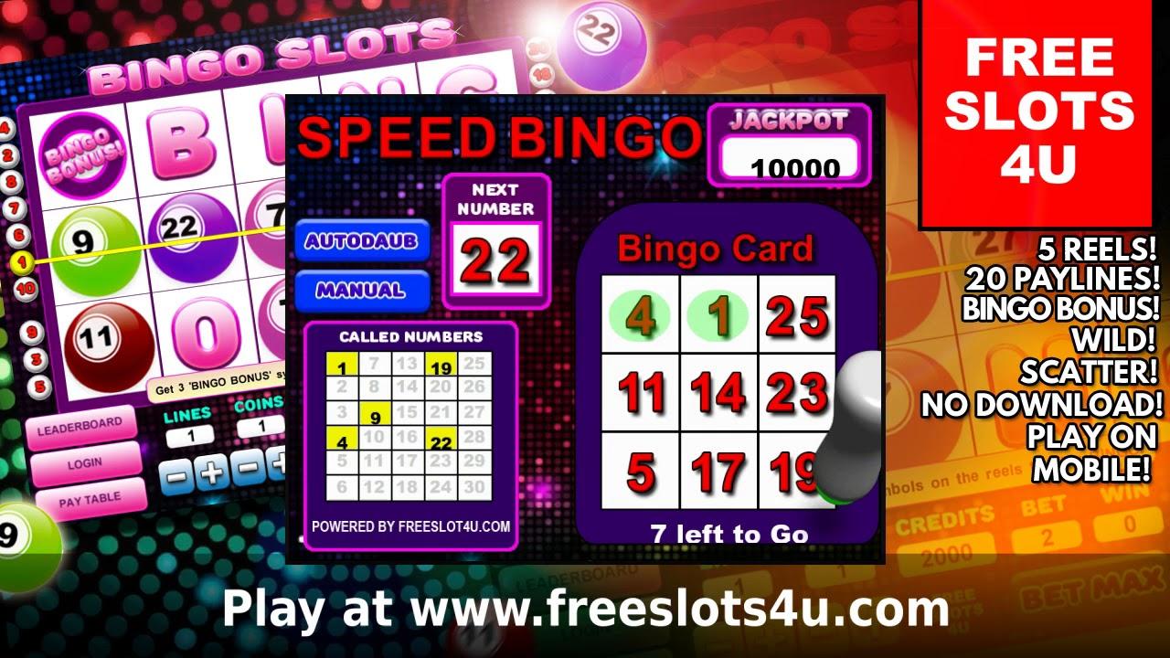 Online Slots And Bingo