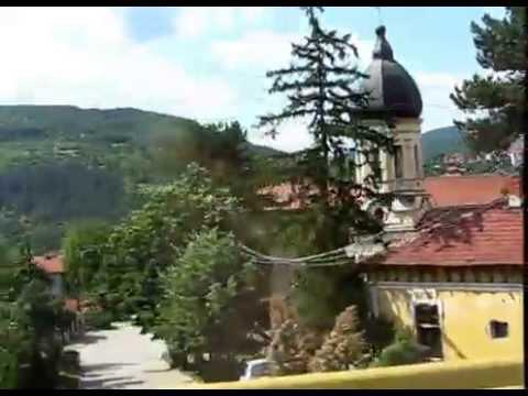Cesta autem přes Srbsko Dimitrovgrad Pirot - Travel by car through Serbia Dimitrovgrad Pirot