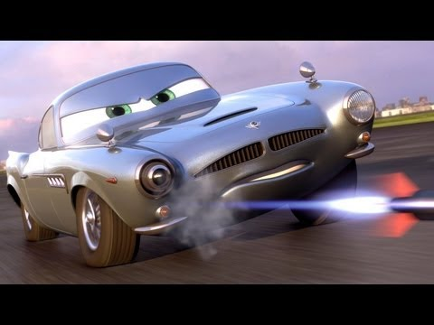 Cars 2 - ENGLISH - The Cars Part 2 - Finn McMissile - Lightning McQueen - Mater (Videogame Intro)