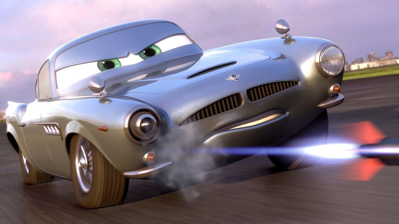 Uncategorized Finn Mcmissile Car cars 2 english the part finn mcmissile lightning mcqueen mater videogame intro youtube