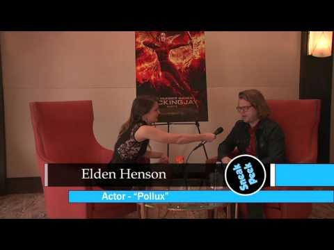 ELDEN HENSON   HUNGER GAMES: MOCKINGJAY  PART 2