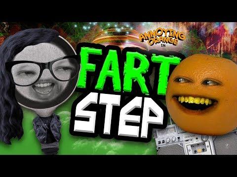 Annoying Orange - FART STEP (feat. Mike Diva & Jon Bailey)