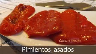 pimientos asados al horno roasted peppers toniococina 77