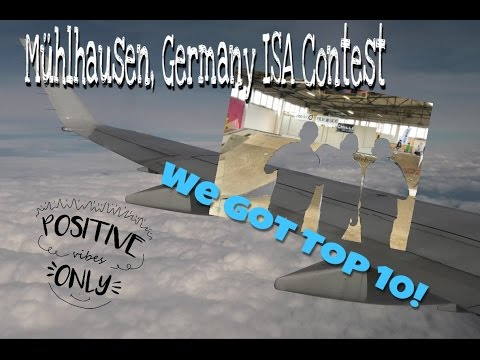 Muhlhausen, Germany ISA Qualifier(WE BOTH PLACED TOP 10!!!)