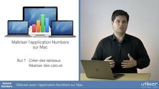 Débuter avec l'application Numbers sur Mac