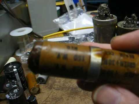 Replacing multi-section electrolytic capacitors in vintage electronic  equipment