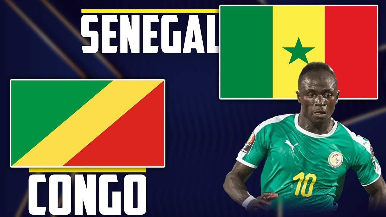 Download 🔴🇨🇬🇸🇳 CONGO - SENEGAL LIVE Talk🎙️ // 🇸🇳 MANE, GUEYE, DIALLO START // Qualifications CAN 2021