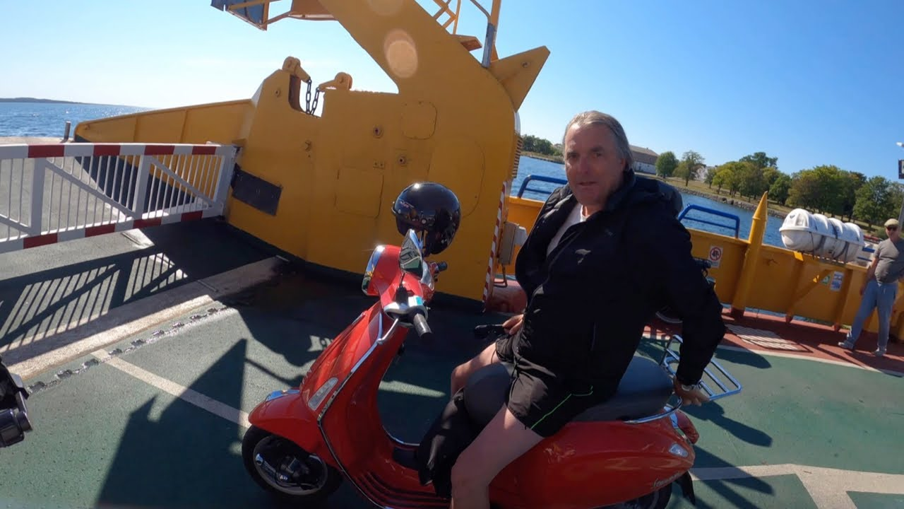 He travels Sweden on a 150cc VESPA! ?? [S3 - Eps. 19]