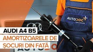 Montare Flansa amortizor AUDI A4 (8D2, B5): video gratuit