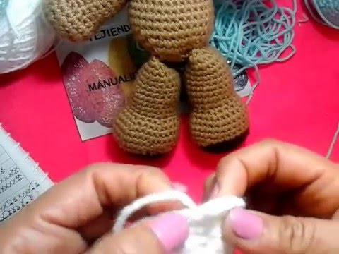Amigurumi Oso Pijama : Amigurumi oso leon paso a paso youtube