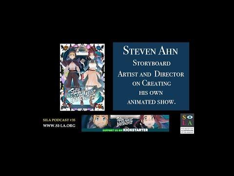 "Steve Ahn on How he created His Animated Short ""Blossom Detective Holmes"""