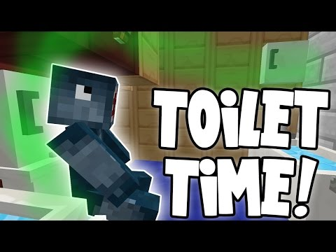Minecraft - Attack Of The B Team - Toilet Time!! [81]