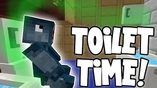 minecraft attack of the b team toilet time 81