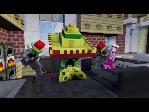 Monster School: Girls vs Boys Nailing - Cooking - Drawing Challenge - Minecraft Animation