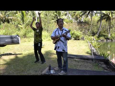 Larry Rivera sings Waialeale at the Coco Palms - June 20, 2015