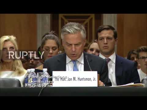 USA: 'Our disagreements are with Russian government, not its people' - Russian Ambassador Nominee