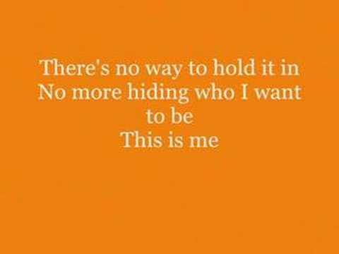 Camp Rock : Demi Lovato : This is Me `With Lyrics - YouTube