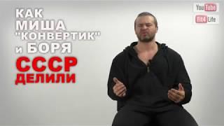 Как Миша Конвертик и Боря СССР делили.