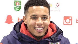 Korey Smith Full Pre-Match Press Conference - Manchester City v Bristol City - Carabao Cup
