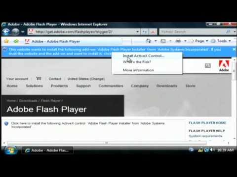 How to Download & Install Adobe Flash Player on Windows XP - 10 from YouTube · Duration:  5 minutes 22 seconds