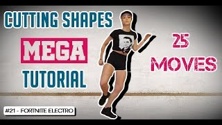 Cutting Shapes MEGA Tutorial - 25 Moves In 3 Minutes [CSN Lesson]