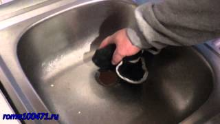 Установка, замена сифона на кухне, умывальнике(, 2014-10-24T10:46:04.000Z)