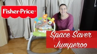 New! Fisher Price Woodland Friends Space Saver Jumperoo