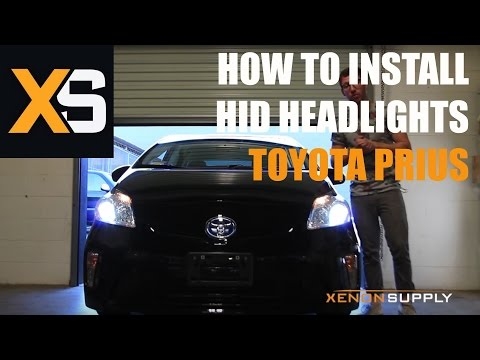 2013 Toyota Prius HID - How to Install HID Xenon 2009+