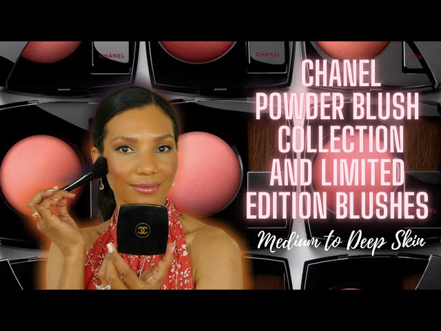 MY COMPLETE CHANEL POWDER BLUSH COLLECTION WITH LIMITED EDITIONS | SWATCHES & APPLICATION