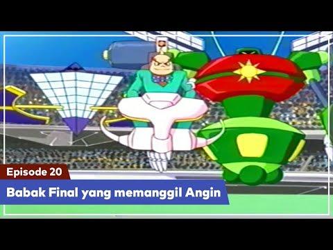 Daigunder - Episode 20 (BAHASA INDONESIA) : Babak Final yang memanggil Angin!