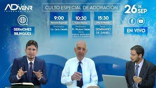 Sábado especial 26 de Septiembre 2020 - Lic. Carlo Cabello y Pr. Richard Gates