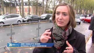 Innovation : présentation du véhicule autonome à Versailles
