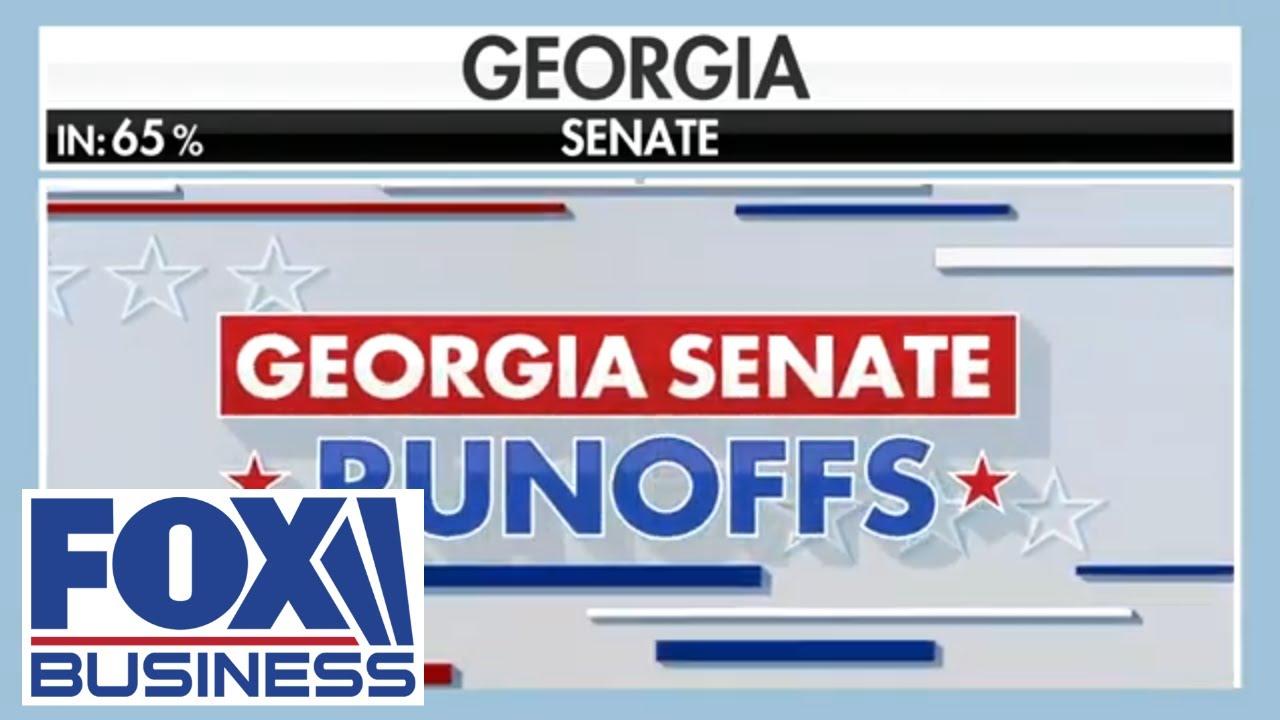 Georgia Senate race remains too close to call