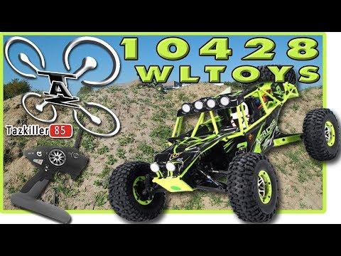 WLTOYS 10428 Rock Crawler Review Test Démo / ça passe ou ... ça passe ! lol