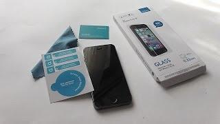 видео защитные стекла для айфон 5S